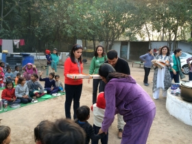 Blanket & Clothes Distribution