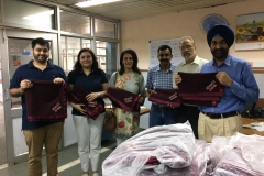 Blankets for Paediatric emergency ward at APC PGI