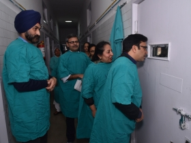 Sector 16 Govt Hospital Ventilator - Inaugurated