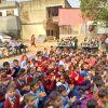 Children's Day celebration at Ghazipur School