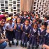 Support to under-privileged children of Vikas Nagar school